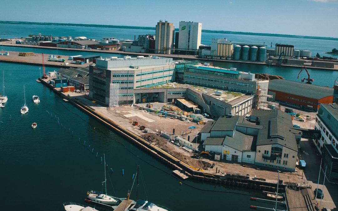 Intea tillträder Linnéuniversitetet i Kalmar